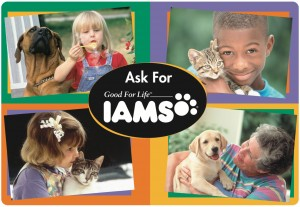 IAMS PLACEMAT