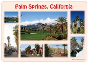 Palm Springs Placemat-Front