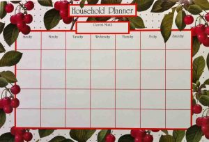 household planner