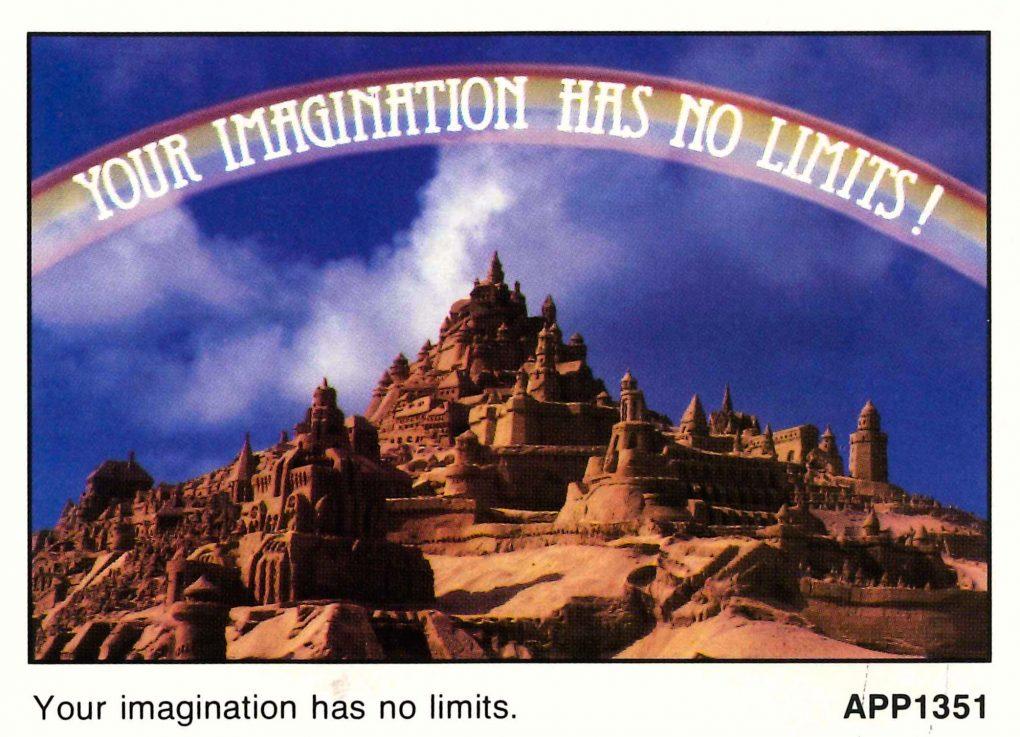 imagination has no limits